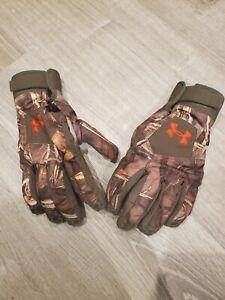 Under Armour Primaloft Hunting Gloves Medium
