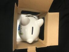 Baby Essentials My First Piggy Bank for Boy, Ceramic