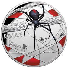 Niue 10 Dollar 2020 - Red-Back Spider Jubiläumsausgabe in Farbe - 5 Oz Silber PP