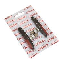 Citomerx rojo/negro V-Brake 1 par zapatas de freno 72mm F. XTR Shimano Deore XT nuevo