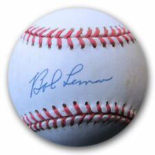 Bob Lemon Signed Autographed AL Baseball Detroit Tigers COA