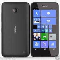 TOUT NEUF NOKIA LUMIA 635 NOIR 8GB 4G LTE WINDOWS 8 SMARTPHONE DÉVERROUILLER