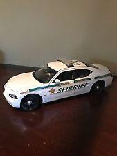 1:18 Broward County Sheriff Dodge Chare Police Car With Lights