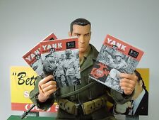 1/6 Scale Yank Magazines, use with Dragon Hot Toys WWII figures - 3 issues