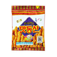Korean Snack HAITAI Mini MATDONGSAN 38g 2,5,10,16ea, Crispy and Sweet