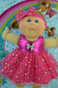 """Play n Wear Dolls Clothes For 14"""" Cabbage Patch SEQUIN DRESS~HEADBAND (SECONDS)"""