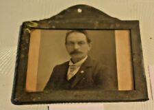 C85 Rare petit porte photo en zinc 1900-1910