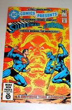 DC COMICS PRESENTS #36   SUPERMAN TEAMS UP WITH STARMAN