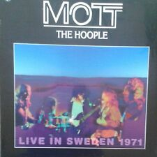 Mott the Hoople Live in Sweden 1971 LP NUOVO OVP/SEALED