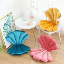 VELVET Shell Stuffed CUSHION CHAIR SEAT Soft Pillow Patio Outdoor Indoor Home