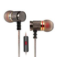 KZ Stereo Sound Bass Metal Musik In-Ear Headset Kopfhörer Kopfhörer mit Mikrofon