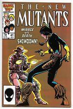 The New Mutants #41 (Marvel, 1986) – Mirage vs. Death Showdown! – NM-