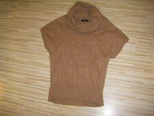 Warme Pullunder Pulli Gr.38-M Braun Neuwertig von *Zero* Angora /Wolle einteil
