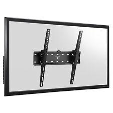 SLIM LED LCD TV STAFFA MURO MONTAGGIO 26 32 40 42 46 47 48 50 55 PER PANASONIC SONY