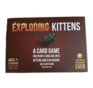 Exploding Kittens Original Edition Party Card Game Genuine | BRAND NEW SEALED |