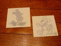 Walt Disney Mickey Mouse Animation Drawing Special Edition For AT&T Members. 5X5
