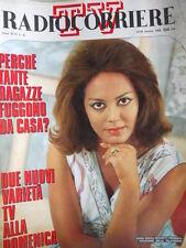 Radio Corriere TV n°41 1969 Maria Grazia Picchetti - Miranda Martino  [C72]