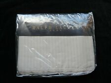 Ralph Lauren Home Flat Sheet Odeon Stripe - 180x280 cm Single 100% Cotton