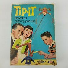 Vintage 1965 Ideal Tip It The Wackiest Balancing Game Ever Complete