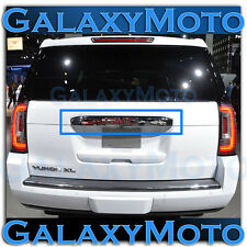 15-16 GMC Yukon+XL Triple Chrome Upper Liftgate Tailgate Handle Cover 2016 2017