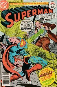 Superman #310 - Metallo - 1977 FN/VF DC - Bronze Age