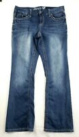 Seven 7 Jeans Size 16 Luxe Womens Blue Denim Bootcut Preowned