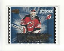2003-04 Pacific Invincible Freeze Frame #12 Martin Brodeur Devils