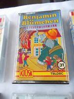 Benjamin Blümchen als Feuerwehrmann, Folge 31, eine Audio Cassette
