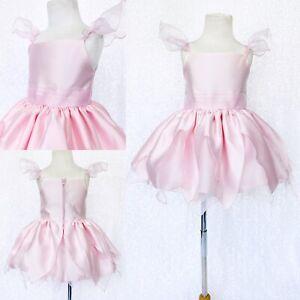 Blush Satin Fairy Tinkerbell Inspired Knee Length Dress Halloween Costume 2 4 6