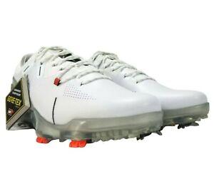Under Armour Spieth 4 Gore-Tex Golf Shoes Men's 9 White Silver 3022575-100