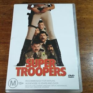 Super Troopers DVD R4 LIKE NEW FREE POST