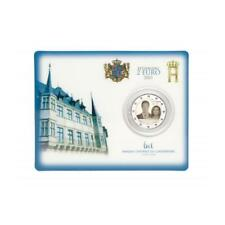 2 Euro Luxemburg 2015 Thronbesteigung Henry in Coincard