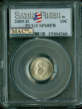 2009-D ROOSEVELT DIME PCGS MAC MS68 FT SMS PQ 2ND FINEST GRADE SPOTLESS .