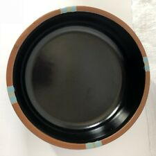 Mesa Black by Dansk Salad Plate Made in Portugal Stoneware Vintage