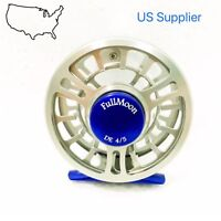 SUPER SALE!! FMO Fly Reel 4/5wt CNC Machined Fly Reel Large Arbor Disc Drag