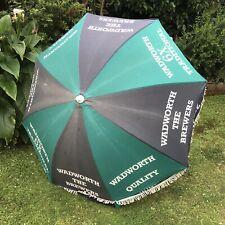 Vintage Wadworth 6X Large Traditional Beer/Pub Parasol Umbrella