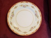 """VINTAGE ~~ 10"""" PLATE ~~ 'GOLD' CHINA HAND-PAINTED ~~ 'MADE in OCCUPIED JAPAN'"""