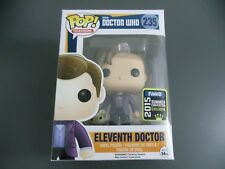 FUNKO POP TELEVISION DOCTOR WHO #235 ELEVENTH DOCTOR (SDCC/SCE 2015) VINYL 🌈