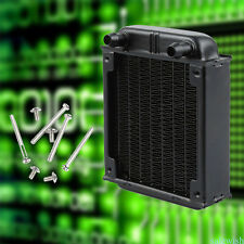 80mm Aluminum Radiator Water Cooling Cooler for CPU Heatsink Computer PC fans S1
