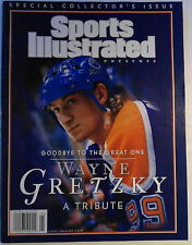 WAYNE GRETZKY COLLECTOR'S  ISSUE  SPORTS  ILLUSTRATED  4/28/99