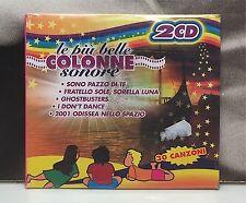 LE PIU' BELLE COLONNE SONORE 2 CD NUOVO SIGILLATO SOUNDTRACK