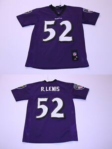 Youth Baltimore Ravens Ray Lewis S (8) Jersey (Purple) NFL Team Apparel Jersey