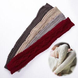 Long Socks Women Leg Warmers Knit Stockings Knitted Crochet Ladies Winter Warm