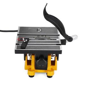Mini Table Saw Blade DIY Woodworking Bench Tool Cutting Machine 4500rpm