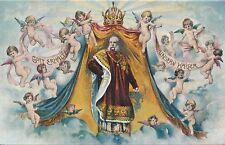 Nr 9699 PK Litho Österreich Kaiser Franz Josef Gott erhalte unsern Kaiser Engel