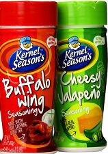 Kernel Season's Spicy Seasoning Variety Pack, (Pack of 2) Jalapeno Buffalo