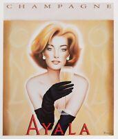 Original Poster - Razzia - Champagne Ayala - Aÿ - 2005