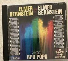ELMER BERNSTEIN BY ELMER BERNSTEIN WITH RPO POPS 1993 CD