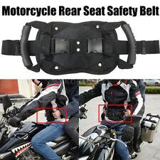 Rear Seat Safety Belt Passenger Non-Slip Strap Motorcycle Back Seat ArmrestBDH1