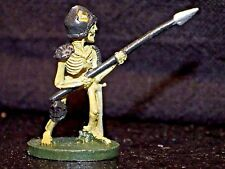 Grenadier ELITE SKELETON INFANTRY 131 Dungeons Dragons Miniature Fighter Metal